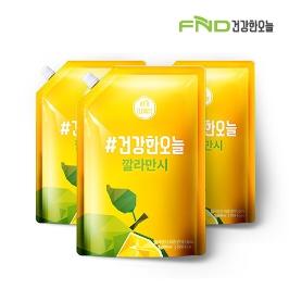 [위메프어워즈] FND건강한오늘 깔라만시 1000mL 1+1+1 3팩