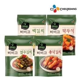 [더싸다특가] CJ 비비고 김치4종 혼합팩 500g x 4팩