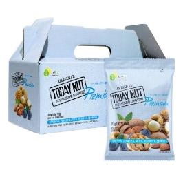 건강을 위한 매일 하루견과 자연루 투데이넛 너트한줌 요거트, 꿀호두, 프리미엄, 연자육 20g x 50봉, 60봉