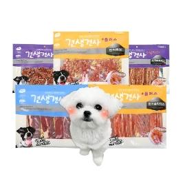 펫엣지 특가 세일 대용량 사사미 300gX5봉 균일가! 애견간식 개껌 강아지간식 강아지껌 대용량간식