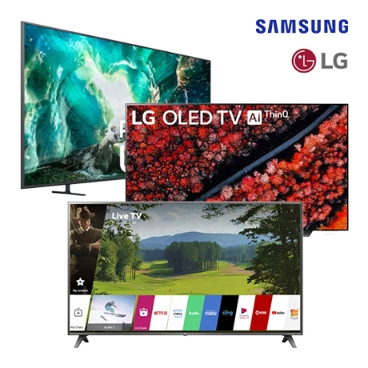 LG/삼성 인기 대형 TV / 65UK6300PUE/ 75UM6970/ QN65Q60R