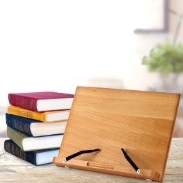 [협동조합] 20% 쿠폰할인! 소형(28cm) G-1 참나무 원목독서대 책받침대 / 중형 / 대형 / 특대형