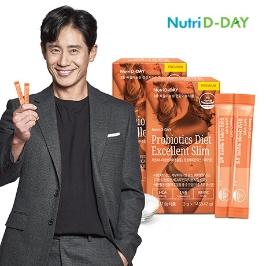 [11시특가] 뉴트리디데이 유산균 다이어트 엑설런트 슬림 2박스(4주분) 外 쉐이크, 잔티젠, 가르시니아