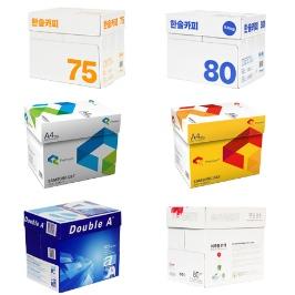 [최저득템가] 한솔 밀크 삼성 더블에이 브랜드 복사용지 75g/80g/85g 2500매/5000매 특가전!!