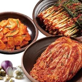 [투데이특가] 후기 4.3점!! 알싸한 맛이 일품! 파김치 1kg 外 배추김치/석박지/깍두기/백김치/나박물김치/보쌈김치