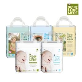 네이쳐러브메레 신제품 기저귀 출시 기저귀 전제품 4팩 모음전 / 매직기저귀/슈퍼슬림/롱나이트/밤부앤콘