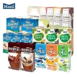 [늘필요특가] 매일유업 뼈로가는칼슘두유 190ml 24팩 외 아몬드브리즈/소화가잘되는우유/상하멸균우유/엔요
