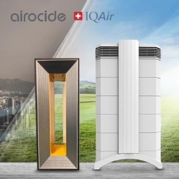 쿠폰할인적용 아이큐에어 vs 에어로사이드 공기청정기 완벽에 가까운 공기정화!