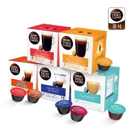 [투데이특가] 1박스를 사도 무료배송! 네스카페 돌체구스토 30종 정품 캡슐 커피 모음전