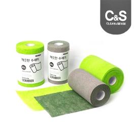 더 도톰해진 크린센스 대형 일회용 수세미 60매X2개 外 청소용품 모음전/밀대 걸레 청소포 물걸레청소포 클리너 돌돌이 클리너