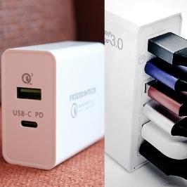 [더싸다특가] 프렌즈테크 USB PD 퀵차지 3.0 고속 멀티충전기