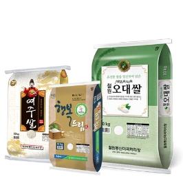 15%쿠폰 19년산 여주 고시히카리 쌀 10kg 외 백미 19종