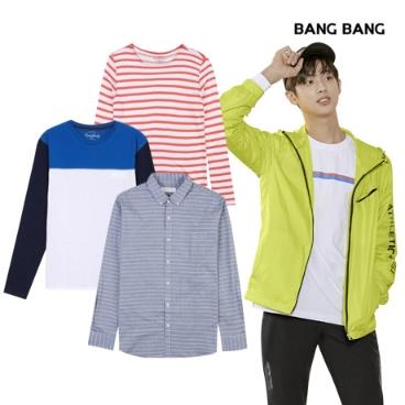 [패션플러스] 뱅뱅 티셔츠/팬츠/맨투맨/슬랙스/스키니/레깅스/셔츠/긴팔티/봄옷