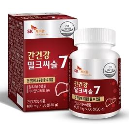 [더싸다특가] 간건강 밀크씨슬 60정x1개_2개월분 외 오메가3,밀크씨슬,유산균,칼슘,비타민D