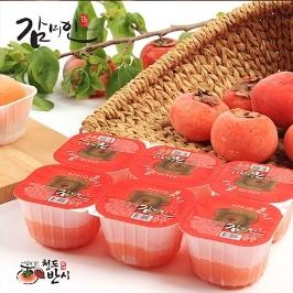 달콤한 청도 아이스홍시60gx24팩 껍질없음!