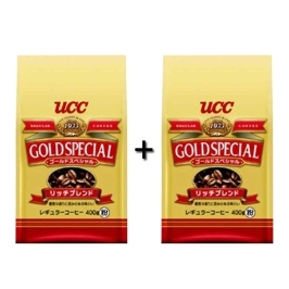 [더싸다특가] UCC 골드스페셜 리치블랜드 360g 2개 묶음 (홀빈커피)