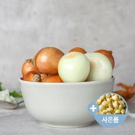 [게릴라특가] 간편채소! 국내산 합천 2019년 햇 깐양파 3kg 껍질을 벗길 필요없이 간편한!