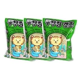 [원더배송] 두부랑캣츠 고양이 모래 7L 3개 / 6개