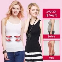 [WOX]왁스 배쏙티 보정속옷 나시 모음전