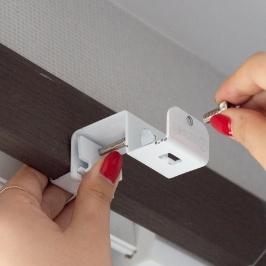 못 없이 설치하자 안뚫어고리 못없이 커튼봉 달기 안뚫어고리 전세집 커튼 블라인드 자취필수템 커튼링 커튼핀