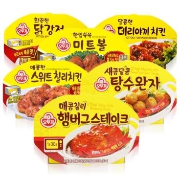 [원더배송] 오뚜기 렌지 즉석조리식품 모음전
