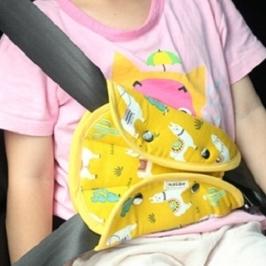 [게릴라특가] 명절 차량이동시 꼭 필요한 어린이 안전용품 특가전!! 어린이 안전벨트 가드 + 목배게