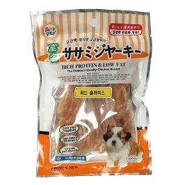 [위메프어워즈] 애니펫 슬라이스 져키 강아지 간식 500g(100g 5p) 3종(하드/소프트/먼치사사미)
