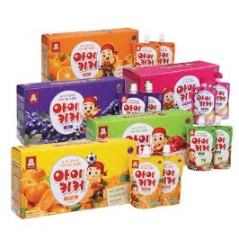 정관장 아이키커 100mlx10팩 구매시 개당 690원/30팩 구매시 개당 483원 사과맛/포도맛/딸기바나나/오렌지패션후르츠