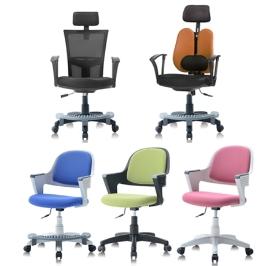 쿠시체어 발받침의자 모음/사무실의자 /  학생의자 /  패브릭의자 / 메쉬의자 / 의자모음 /  체어모음