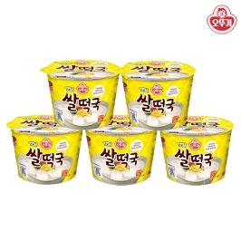 [더싸다특가] 오뚜기 옛날 쌀떡국 181.6gX5개