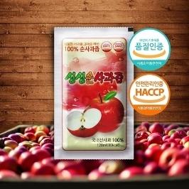 [쇼핑빅딜리그] 싱싱순사과즙 100포/50포 청송사과즙 국산사과100% 꿀사과주스 산지직송
