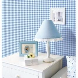 [오늘의신상] 벽지 포인트시트지_블루체크 50cm x 80cm