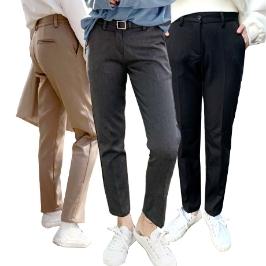 [투데이특가] 니까 남여공용 히팅 본딩 기모 슬랙스 캐주얼 일자 정장 팬츠 겨울 긴바지 S~XL