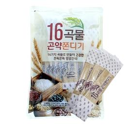 16곡물 곤약쫀디기 220g / 4+1