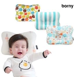 [투데이특가] Borny 보니 신생아필로우 짱구베개 세일전 / 신생아 두상을 동글동글 예쁘게 잡아주는 보니 신생아필로우