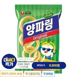 [더싸다특가] 농심 양파링 10봉 외 과자 만원의 행복 골라담기