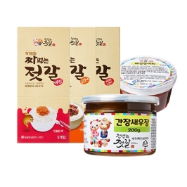 [어디까지팔아봤니] 짜먹는젓갈 3종 오늘만 12,900원 특가! / 명란,비빔낙지,오징어 / 무료배송