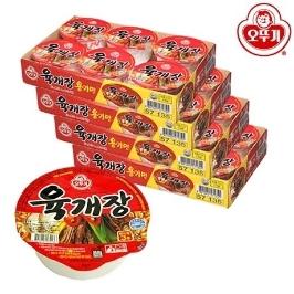 [위메프어워즈] 오뚜기 육개장 매운맛(용기)86g 6+6+6+6(총24컵)