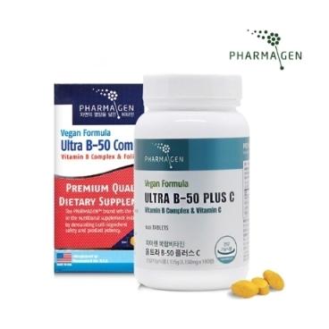 파마젠 울트라 비타민B-50 PLUS 플러스C / 비타민B콤플렉스 / 비타민B컴플렉스