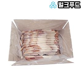 벌크푸드 냉동 대왕오징어 귀채 4kg 구매 시 1kg 당 6,075원 / 20kg 구매 시 1kg 당 4,700원