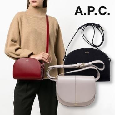 [APC] 아페쎄 2019 가을신상 하프문/베티백 다양한 색상~