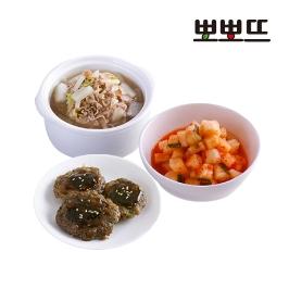 최대 41% 뽀뽀뜨 아기반찬/국/밥/김치/양념 세트모음(43종)