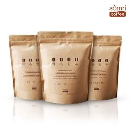 [어디까지팔아봤니] 커피원두 예가체프 200g x 3팩 등 3종 / 무료배송