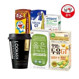 [더싸다특가] 남양 옳은 유기농우유 특가 외 프렌치카페 / 탄산수 / 아인슈타인 / 맛있는우유 등