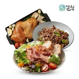 [어디까지팔아봤니] 토종닭 반마리 훈제 등 닭/오리 4종