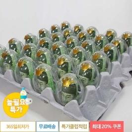 [늘필요특가] 계란한판 이벤트DIY세트 /계란판 뚜껑+투명에그캡슐+리본+토퍼 /30살 남편 신랑 생일 파티용품 어버이날용돈 부모님 용돈 박스