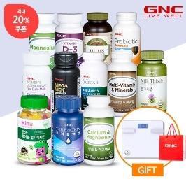 [더싸다특가] 쿠폰적용가 11,120원 / GNC 건강기능식품 베스트 60종 미.친 가격 / 밀크씨슬, 멀티비타민, 루테인, 크릴오일, 칼슘