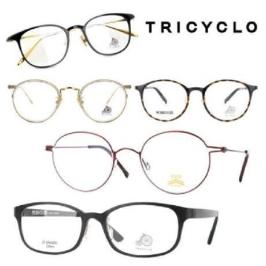 [트리시클로] [트리시클로] 가벼운 초경량 안경테