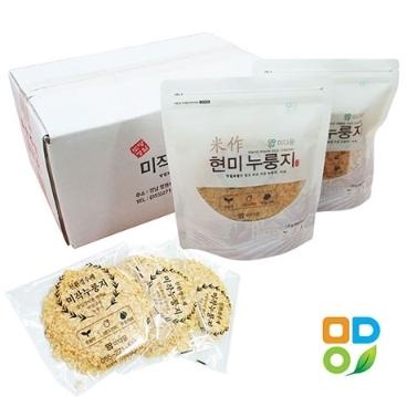 [미작누룽지] 유기농수제 현미 보리 귀리누룽지