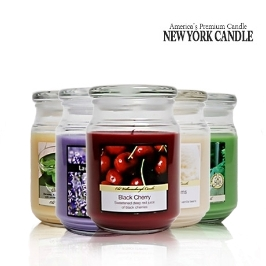 [더싸다특가] 뉴욕캔들 정품 라지자 / 대용량 캔들 뉴욕직수입 정품 최고의 가성비
